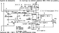 Regulator nap. Transformatora uzwojenie pierwotne na U2008 i BT136