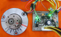 BLDC and DC motors Driver (educational testing software)