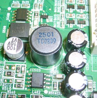 Oznaczenie cewki 2501 TC0809