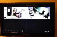Kamera w firmie - obraz w domu na TV.