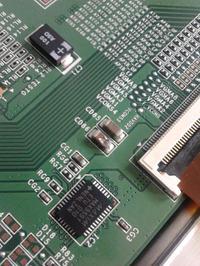 Samsung UE46C7700WS - Brak obrazu, buczenie z T-CON