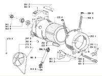Pralka - polar PFL800 jak wyciągnąć łożysko ◄