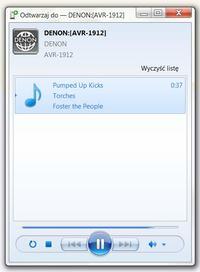 DENON AVR1912 - streaming audio przez sieć