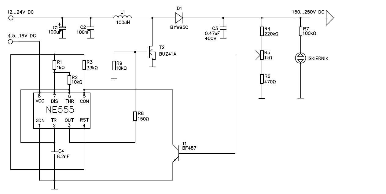 Konstrukcja korektora wsp�czynnika mocy (PFC)