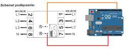 Arduino uno r3 i 5 termometrów ds18b20 lcd 4x20