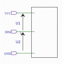 dzielnik napięcia: napięcie względem GND versus sterownik na wspólnym VCC