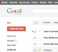 Od�wie�ony interfejs Gmaila przypominaj�cy Google+