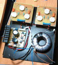 Wzmacniacz lampowy EL84 PP UL