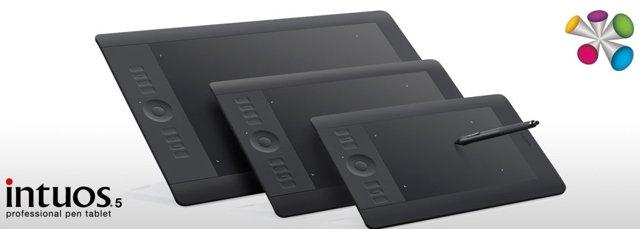 Intuos 5 - nowe elektroniczne pi�ro od Wacom
