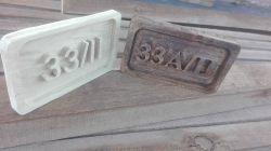 Malinowa frezarka CNC z aluminium