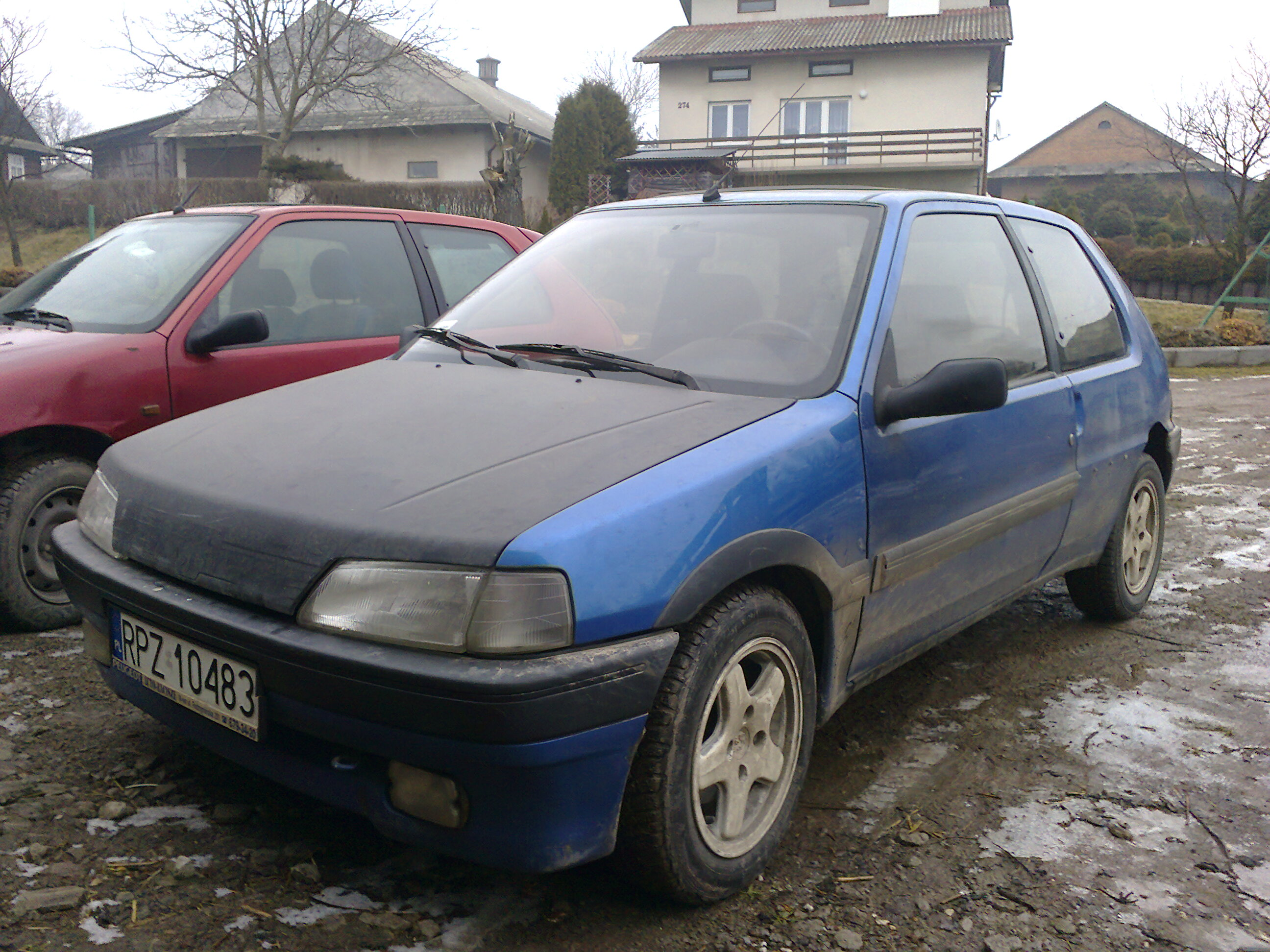 Peugeot 106 - zmiana rozstawu �rub