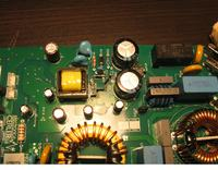 Uszkodzony układ zasilania - Płyta indukcyjna BOSCH PIE675N14E