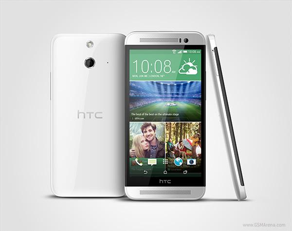 "HTC One E8 - smartphone z 5"" ekranem, Snapdragon 801 i 13Mpix"