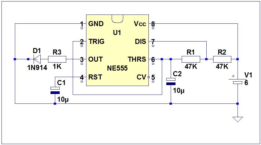 Generator fali prostok�tnej