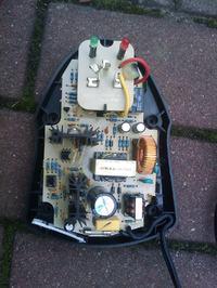 Bosch BC 430 - przeróbka na 230V