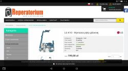LG K420 (K10) brak ładowania