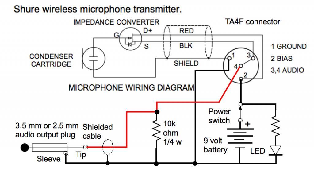 shure mini xlr wiring automotive wiring diagram u2022 rh nfluencer co XLR to TRS Wiring-Diagram 3-Pin XLR Wiring-Diagram