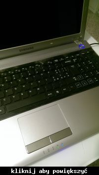 Samsung RV511 - czarny ekran - po włączeniu działa jedynie wentylator