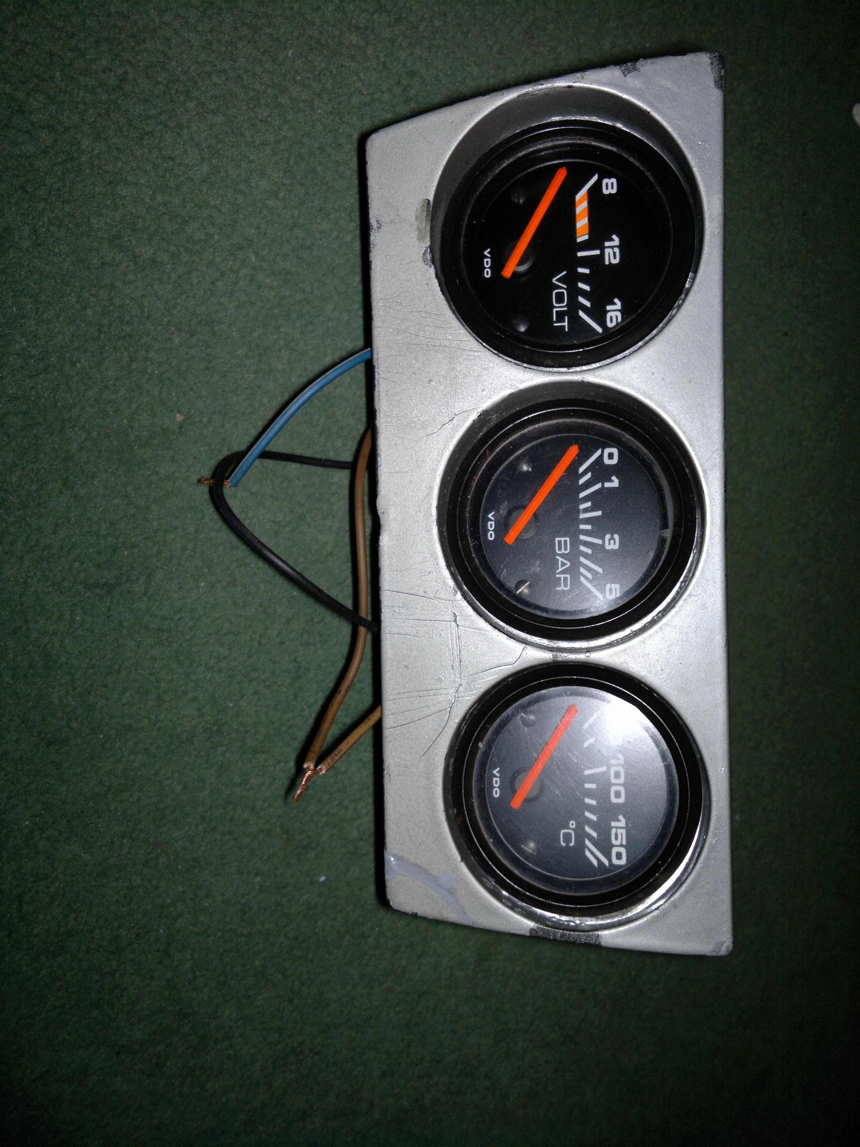 Audi 8090 Dodatkowe Zegary Vdo Czy Da Sie Naprawic