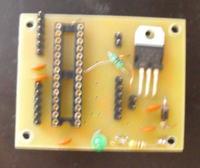Prosta płytka prototypowa Atmega 8