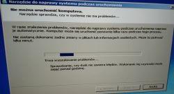 PCF PC2 stacjonarny - blue screen od razu na uruchamianiu systemu