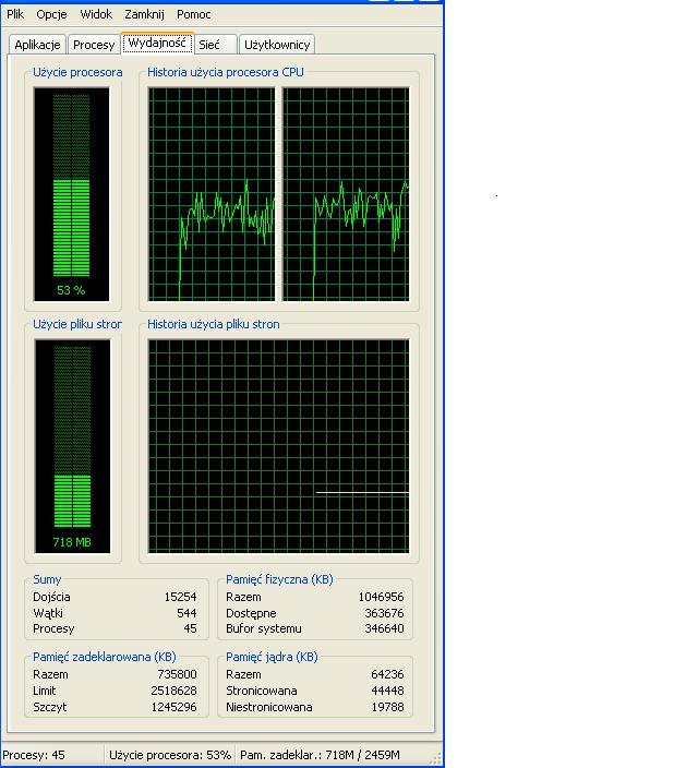 Ogromne zu�ycie procesora podczas flashowej gry