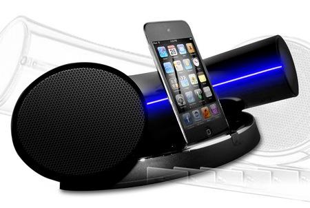 Speakal iKruv - nowoczesna stacja dokuj�ca z g�o�nikami dla iPoda/iPhone'a