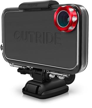 Mophie OUTRIDE zamieni twojego iPhone 4/4S w sportow� kamer�
