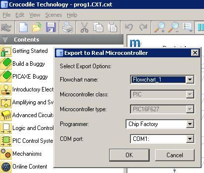 PIC i Crocodile Technology, jaki programator do PIC?