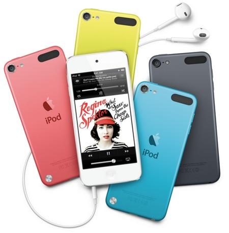 Apple prezentuje iPod touch 5 generacji