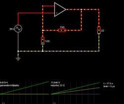 Wzmacniacz dla generatora arbitralnego