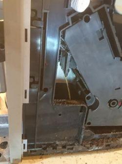Bosch TES71151DE - mała ilość kawy, reszta leci do pojemnika