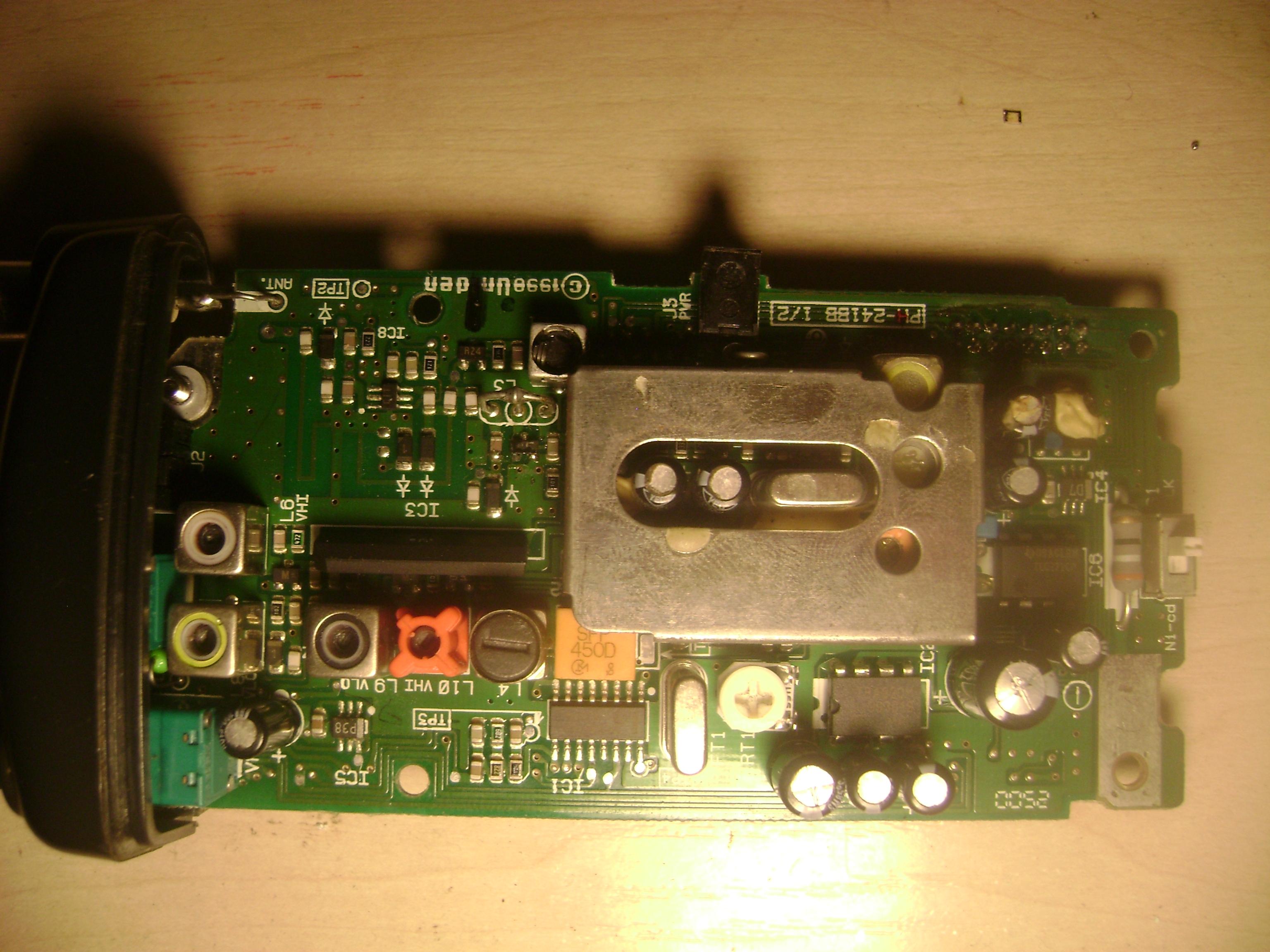 Uniden Ubc60xlt-1 - Uszkodzone elementy