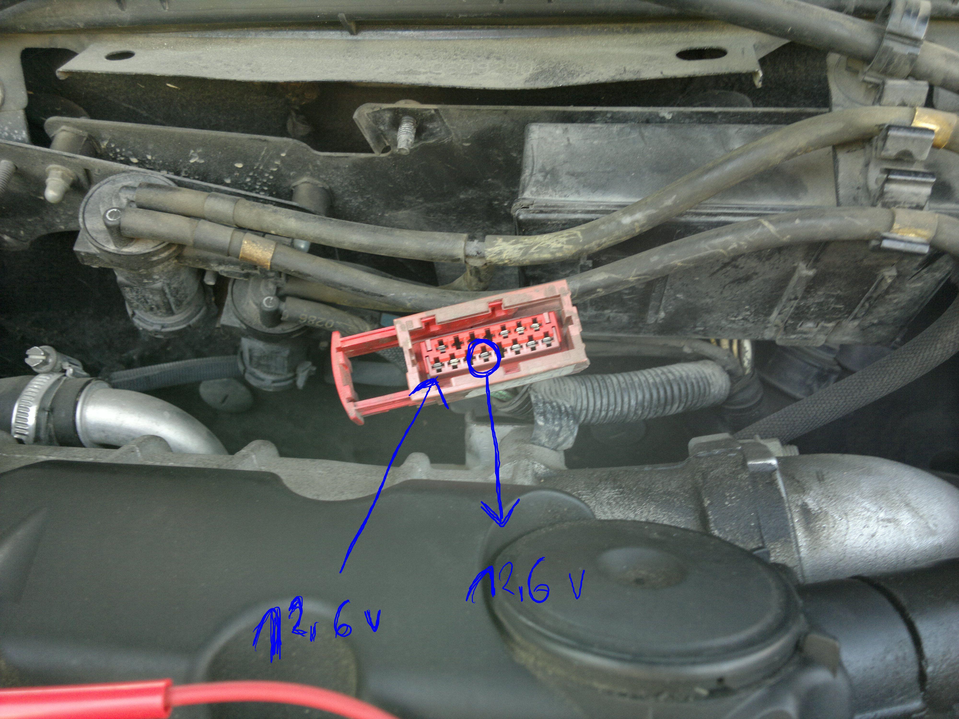 Citroen Xsara brak zasilania na pompce paliwa