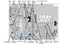Przerwania - reagowanie na wciśnięcie przycisku na klawiaturze matrycowej 4x4