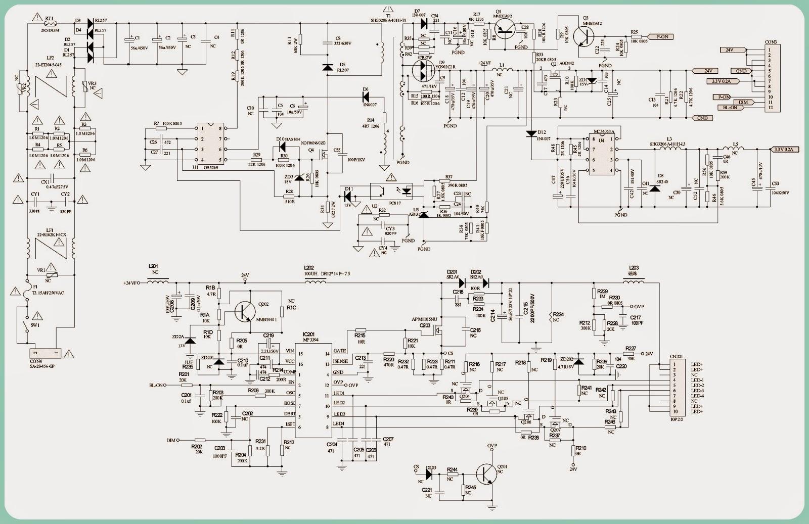 Philips 40pfl3008h  12 - Brak Pod U015bwietlenia