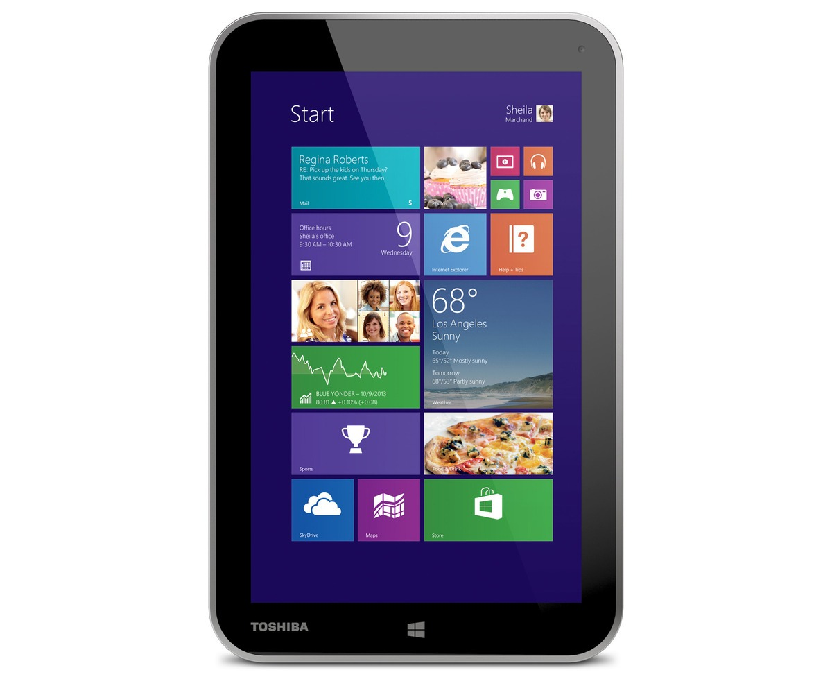 "Toshiba Encore - tablet z 8"" ekranem, Intel Atom i Windows 8.1"