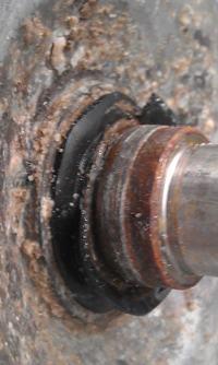 pralka Whirlpool AWE/AWT, PTL - Ocena wizualna stanu krzyżaka i uszczelniacza