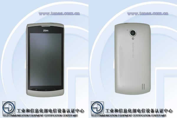 "ZTE Blade V881 - smartphone z ekranem 3,8"", procesorem 1 GHz"