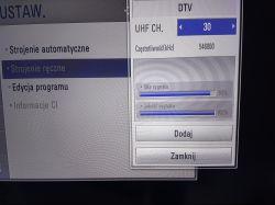 Antena TTV TURBO Q100 - Problem z odbiorem MUX 3 (k.25) i MUX L4 (k.24)