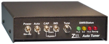 LDG Z11 HF VHF Automatic Antenna Tuner Manual