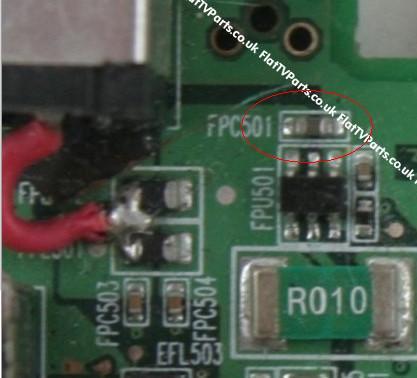Packard Bell MIT DRAG D - pro�ba w identyfikacji element�w smd