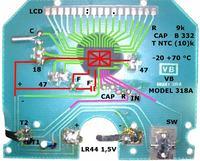 Popularny termometr cyfrowy samochodowy i nie tylko - jaki tu układ