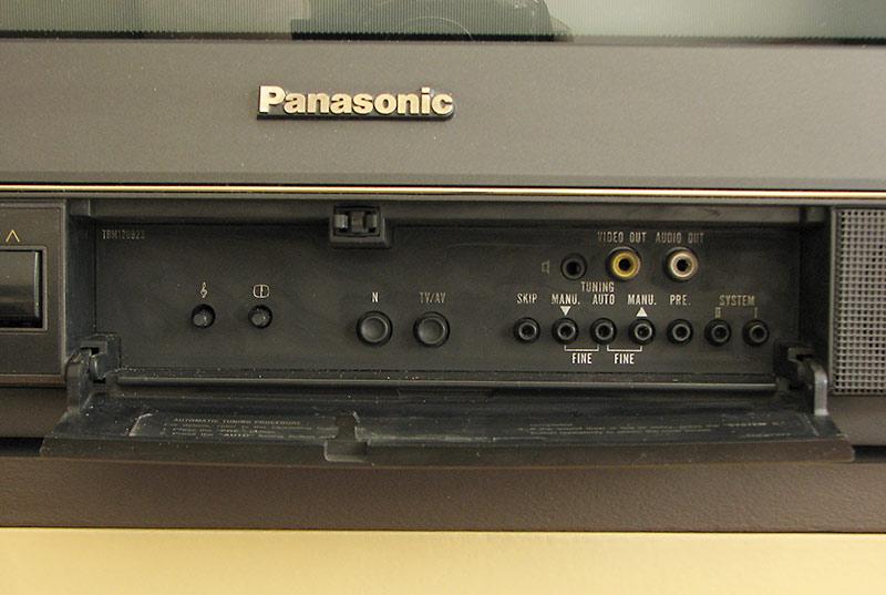 Panasonic TC 21B3EE - Pod��czenie tunera DVB T