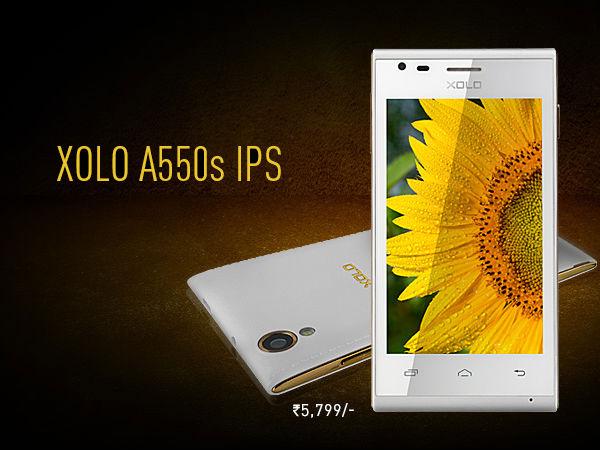 Xolo A550s IPS - 4-calowy, bud�etowy smartfon z dwurdzeniowym procesorem.
