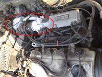 Nieznana ��ta kontrolka i samoch�d nie chodzi na benzynie Mitsubishi Galant 94