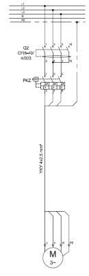Wyłącznik różnicowoprądowy do silnika trójfazowego
