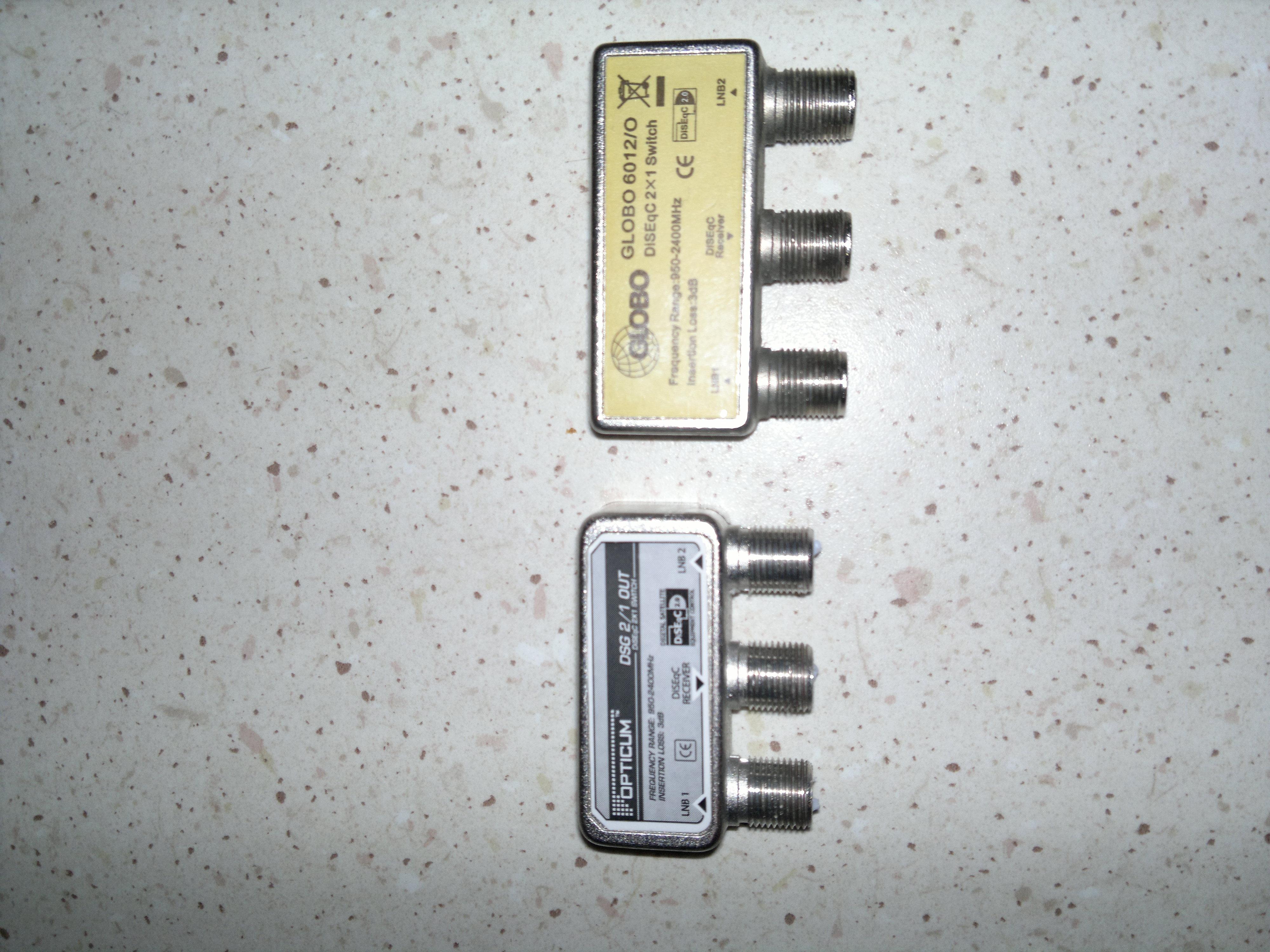 Poważnie Ferguson fk-7000 zez hotbird i astra oraz przełącznik ZD57