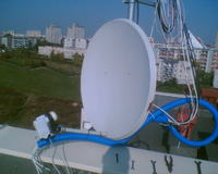 Instalacja Anten: CB, 2m, 70cm, UKW, Sat na Dachu