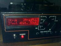 Nadajnik UKF FM 100W STEREO PLL